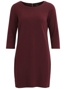 Vila Jurk VITINNY NEW DRESS-NOOS 14033863 Fig
