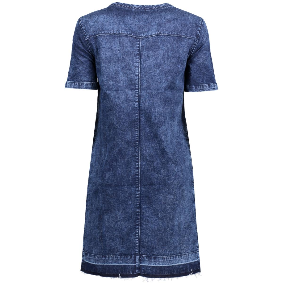 onljody ss jogg dnm dress qyt 15138836 only jurk dark blue denim