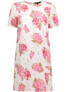 VMWILD FLOWER SS SHORT DRESS LCS 10190557 Snow White/ Flower Print