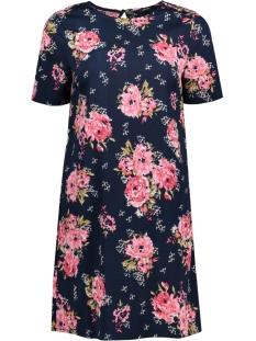 VMWILD FLOWER SS SHORT DRESS LCS 10190557 Navy Blazer/ Flower Print