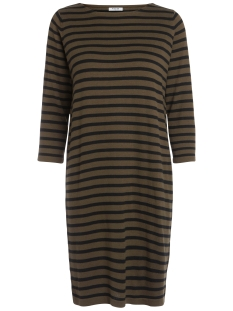 Pieces Jurk PCLYNETT 3/4 KNIT DRESS 17083538 Dark Olive