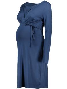 Mama-Licious Positie jurk MLLISSY PETIT L/S JERSEY DRESS A 20007489 Dark Denim