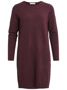 VIRIL L/S KNIT DRESS-NOOS 14042768 Fig/MELANGE