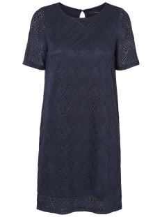 Vero Moda Jurk VMMAJSE 2/4 SHORT LACE DRESS JRS A 10182882 Navy Blazer