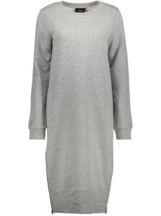 Object Jurk OBJBILLY SWEAT DRESS 93 23025508 Light Grey Melange