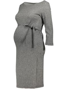 Mama-Licious Positie jurk MLTARTAN 3/4 JERSEY ABOVE KNEE DRESS 20007670 Grey Melange/ Check