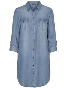 VMSILLA LS SHORT DRESS LT BL GA NOOS 10184172 Light Blue Denim