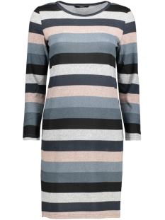 onlELCOS SHORT DRESS 7/8 JRS 15150485 Grey Melange/Stripe