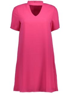 onlsuper choker 2/4 dress wvn 15144981 only jurk fuchsia purple