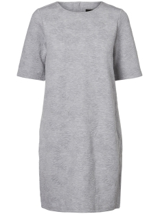 VMGALIA 2/4 SHORT DRESS SWT 10186351 Light Grey Melange