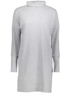 Noisy may Jurk NMCITY L/S BAT SHORT DRESS   NOOS 27000748 Light Grey Melange