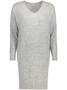 onlMAYE L/S V-NECK DRESS KNT 15143530 Light Grey Melange