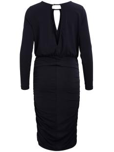 vimoma l/s dress 14042116 vila jurk dark navy