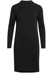 VIFAUNAS L/S HIGH NECK DRESS-NOOS 14042374 Black