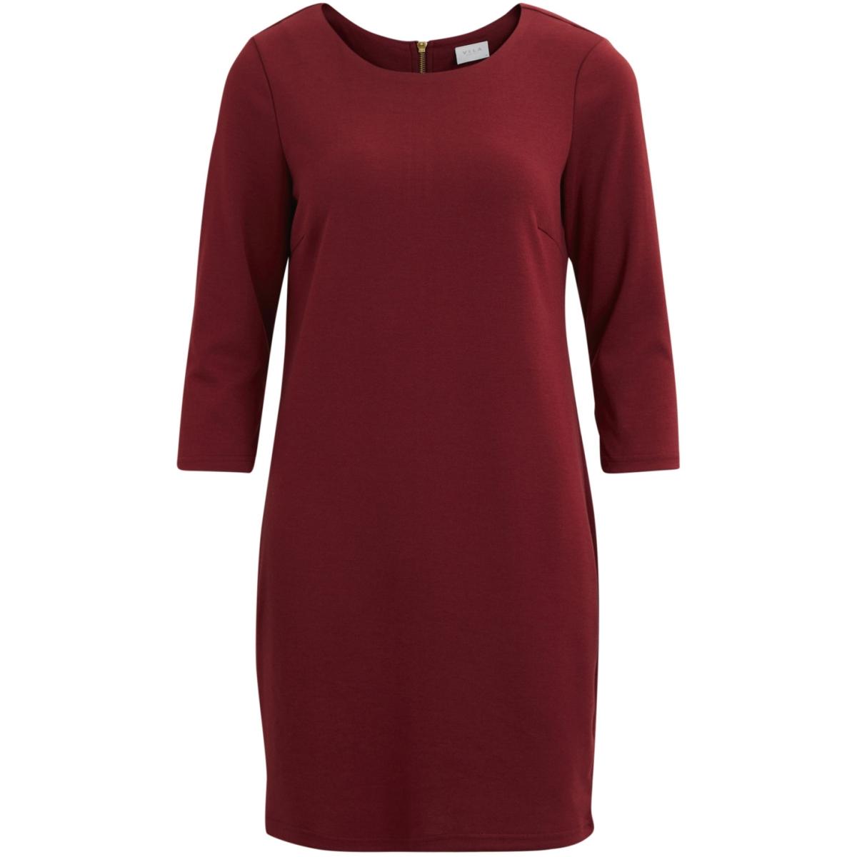 vitinny new dress-fav 14043495 vila jurk cabernet