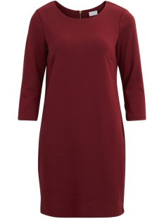 Vila Jurk VITINNY NEW DRESS-FAV 14043495 Cabernet
