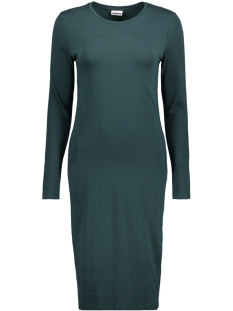 Noisy may Jurk NMALEXIS L/S BELOW KNEE DRESS 6 MB 10186133 Green Gables