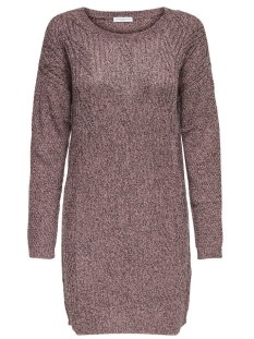 Jacqueline de Yong Jurk JDYROSANNA L/S DRESS KNT 15133640 Woodrose