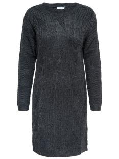 Jacqueline de Yong Jurk JDYROSANNA L/S DRESS KNT 15133640 Dark Grey Melange