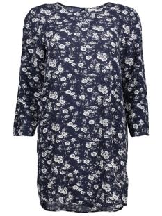 Jacqueline de Yong Jurk JDYDAYA 3/4 AOP DRESS WVN 15139228 Dark Navy/Daya Flower