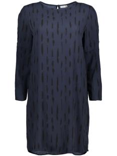 Jacqueline de Yong Jurk JDYDAYA 3/4 AOP DRESS WVN 15139228 Black Iris/Daya Strok
