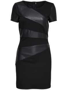 Only Jurk onlMARY FAUX LEATHER DRESS OTW 15139923 Black