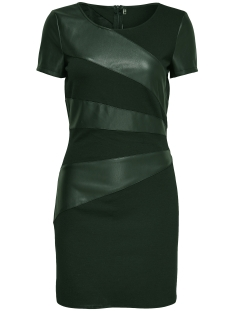 Only Jurk onlMARY FAUX LEATHER DRESS OTW 15139923 Jet Set