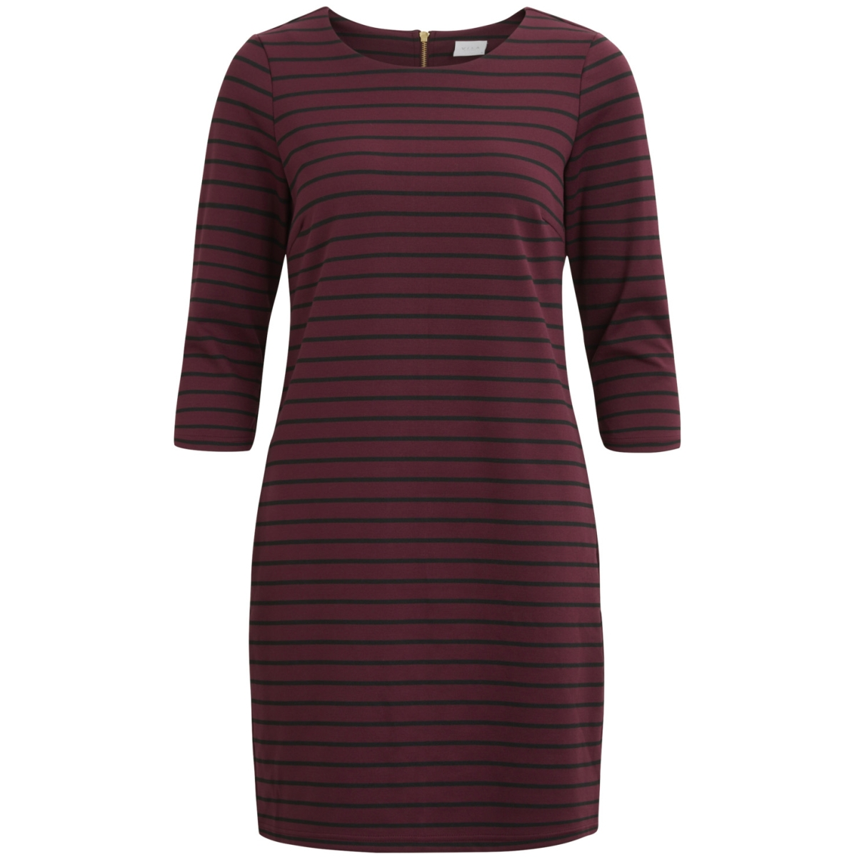 vitinny new dress-fav 14043495 vila jurk fig/black