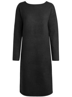 pcjenna ls long knit dress 17083601 pieces jurk black