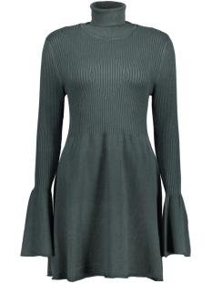 Vero Moda Jurk VMNORWALK GLORY LS SHORT DRESS 10182711 Green Gables