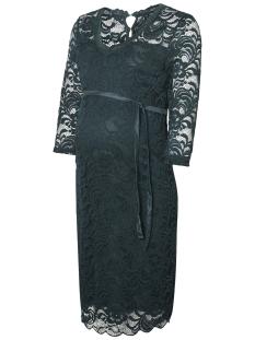 Mama-Licious Positie jurk MLMIVANA 3/4 JERSEY DRESS 20007260 Green Gables