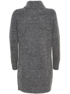 onltrust l/s highneck dress knt rp 15116634 only jurk dark grey melange
