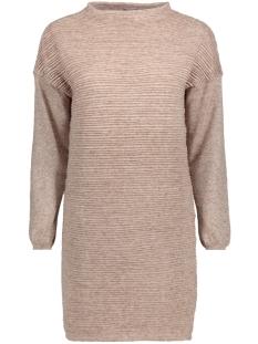 Jacqueline de Yong Jurk JDYCLUB L/S DRESS KNT 15141381 Simply Taupe