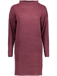Jacqueline de Yong Jurk JDYCLUB L/S DRESS KNT  15141381 Vineyard Wine