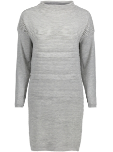 Jacqueline de Yong Jurk JDYCLUB L/S DRESS KNT 15141381 Light Grey Melange