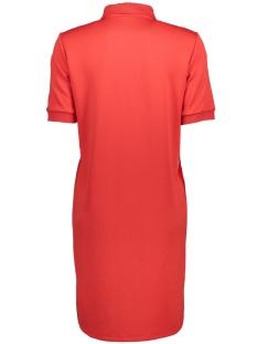 nmeli s/s above knee dress 8x 27000507 noisy may jurk flame scarlet