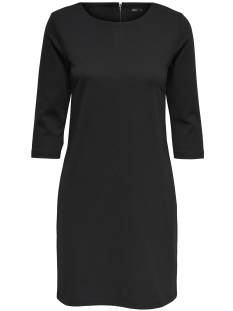 Only Jurk onlTONNI 3/4 SHORT DRESS NOOS 15145396 Black