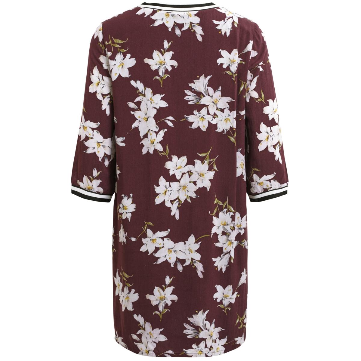 objtriny 3/4 dress a 23024666 object jurk winetasting