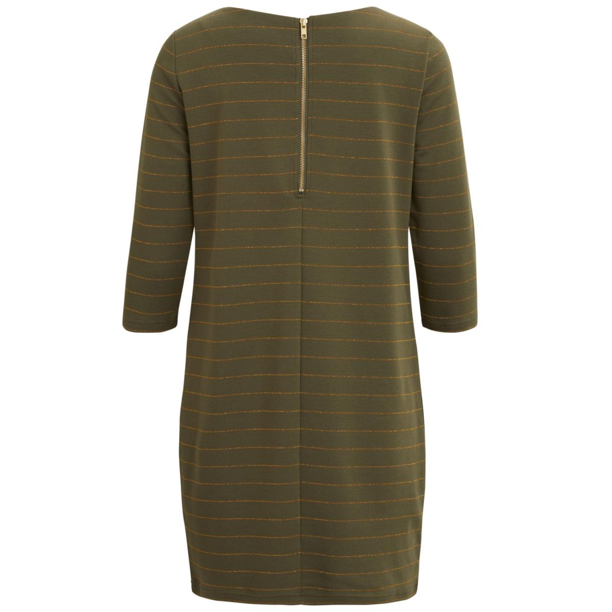 vitinny new dress - lux 14043921 vila jurk ivy green