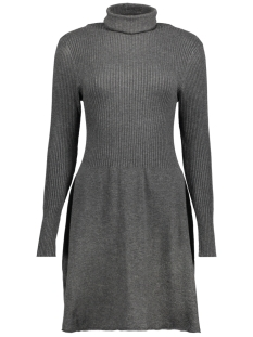 Only Jurk onlALMA L/S DRESS KNT 15142506 Dark Grey Melange