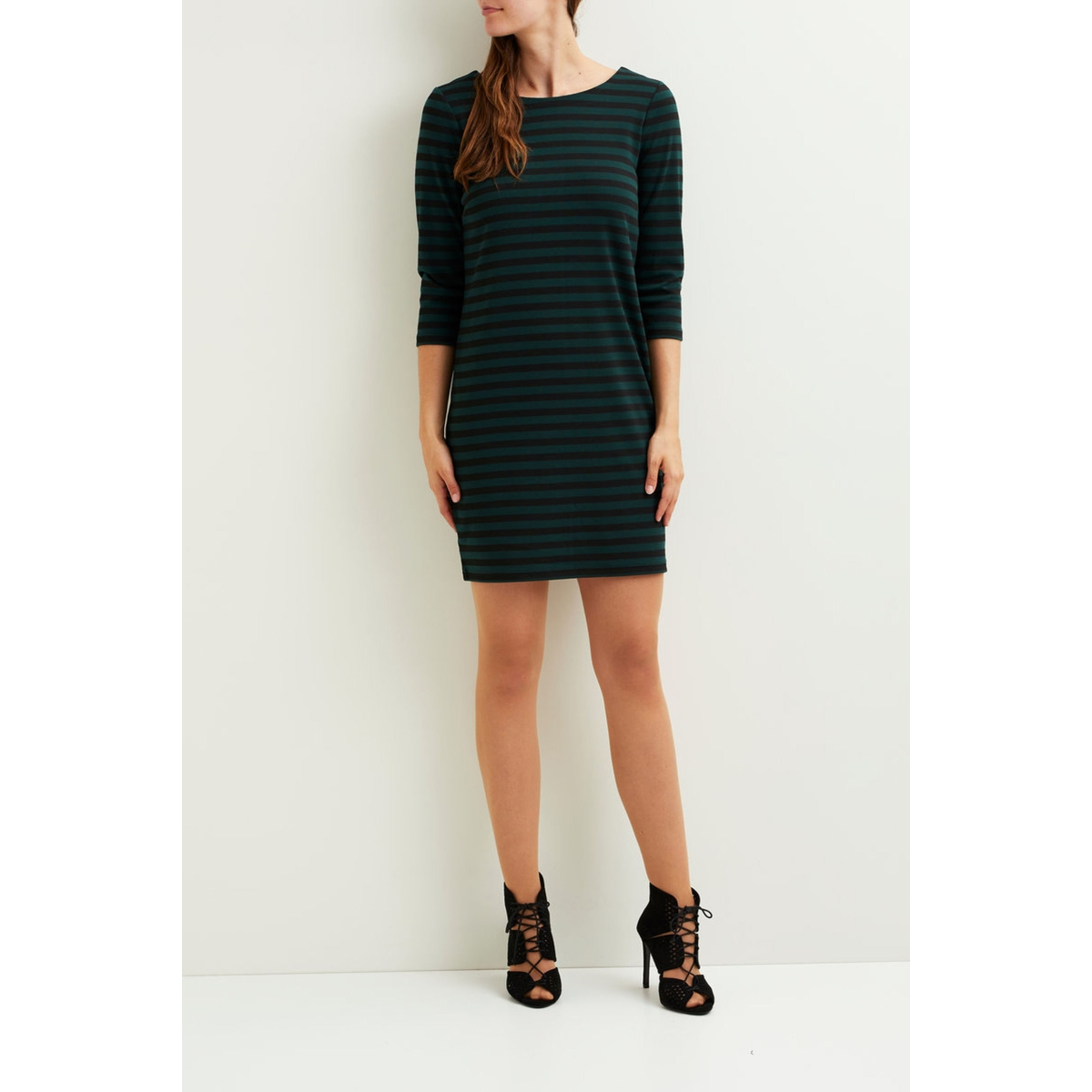 vitinny new dress-fav 14043495 vila jurk pine grove/black
