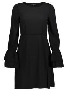 Vero Moda Jurk VMMOLLY L/S WRINCLE SHORT DRESS 10191087 Black/SOLID