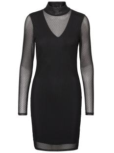 Vero Moda Jurk VMKIRA LS MESH SHORT DRESS 10188279 Black