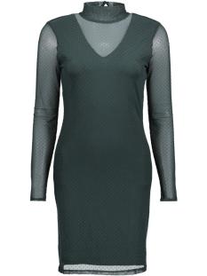 vmkira ls mesh short dress 10188279 vero moda jurk green gables