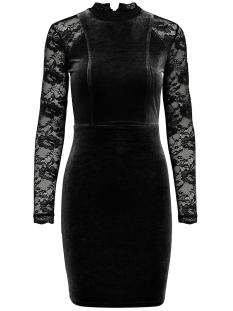 Only Jurk onlVALERIE L/S BODYCON DRESS JRS 15144172 Black