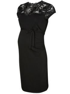 mlblackie mivana cap dress 20007631 mama-licious positie jurk black
