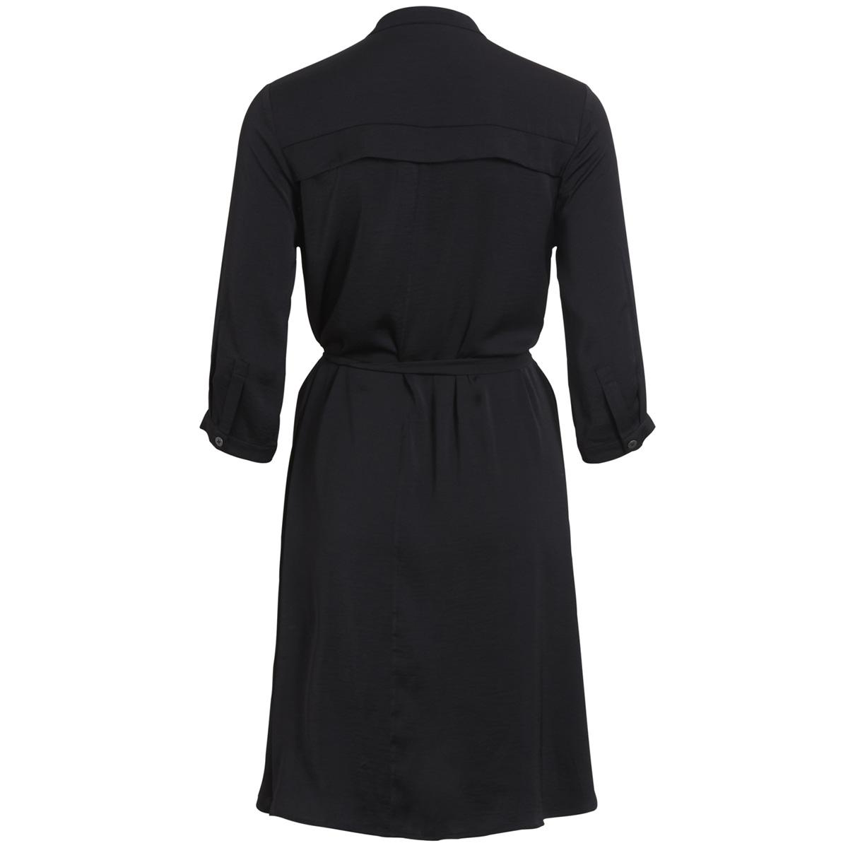 objadrianne 3/4 dress apb 23025699 object jurk black