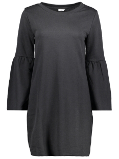Jacqueline de Yong Jurk JDYPROVE L/S WIDE SL SWEAT DRESS SW 15146670 Black