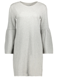 Jacqueline de Yong Jurk JDYPROVE L/S WIDE SL SWEAT DRESS SW 15146670 Light Grey Melange