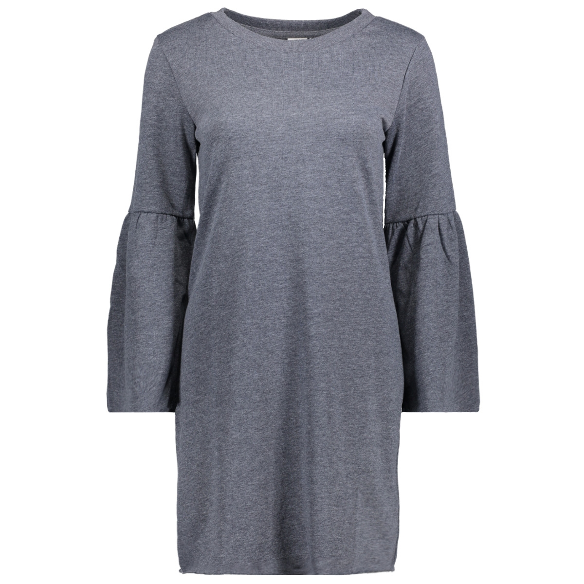 jdyprove l/s wide sl sweat dress sw 15146670 jacqueline de yong jurk dress blues/melange